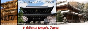Chionin Temple | Article Base KCNBRAND.COM
