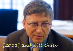 No. 2 Bill Gates