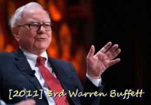 No. 3 Warren Buffett