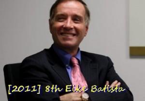 No. 8 Eike Batista